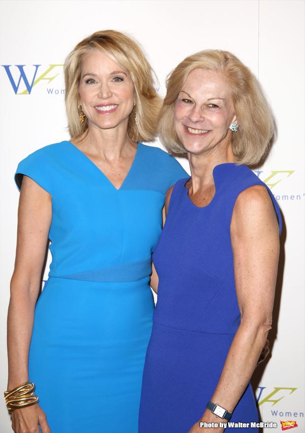 Paula Zahn and Christie Hefner