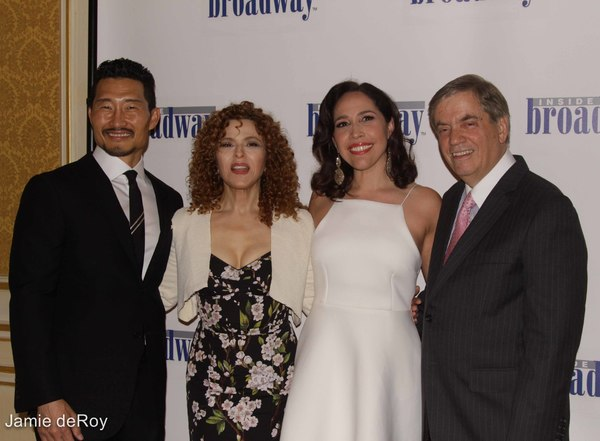 Danniel Dae Kim, Bernadette Peters, Andrea Burns, Michael Presser, Executive  Photo
