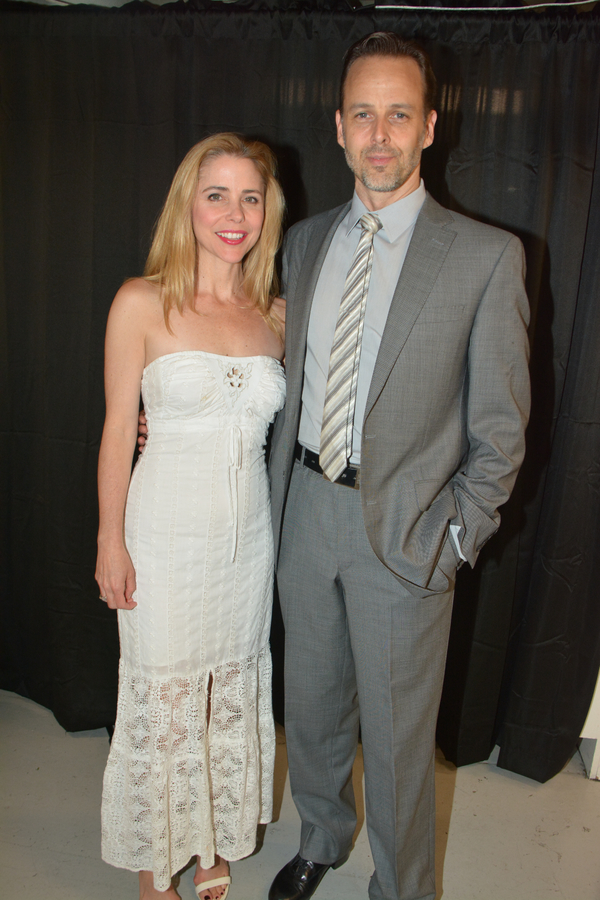 Kerry Butler and Noah Racey