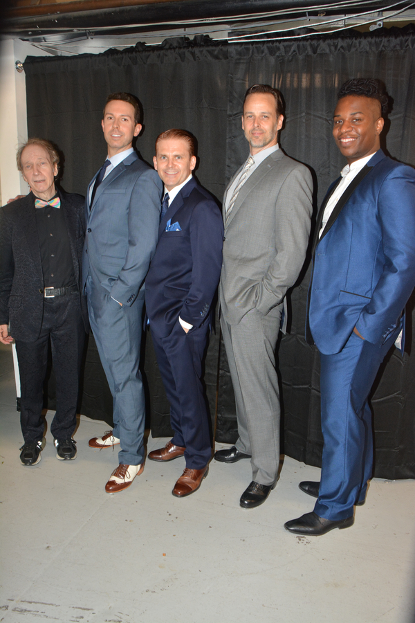 Scott Segel, Jeremy Benton, Robert Creighton, Noah Racey and Carlton Terrence Taylor