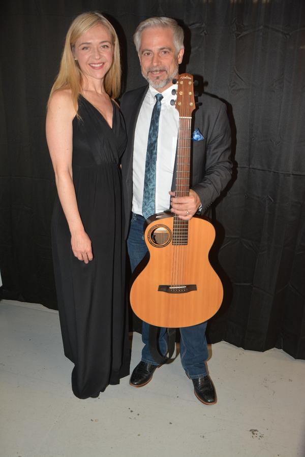Rachel Bay Jones and Sean Harkness