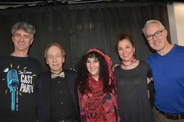 Rick Hinkson, Scott Siegel, Barbara Siegel