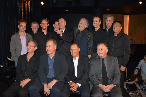 Michael Riedel, James Prendergast, Bill Army, Rory O'Malley, Paxton Whitehead, Tim Jerome, James Ludwig, Jack Gilpin, Ariel Estrada, Marc Vietor, Jay O. Sanders, Victor Slezak and Andrew Weems
