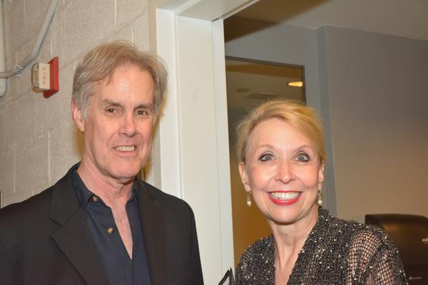 Jack Gilpin and Julie Halston