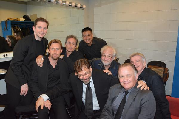 Rory O'Malley, Bill Army, Marc Vietor, Ariel Estrada Tim Jerome, James Prendergast, Andrew Weems and David Staller