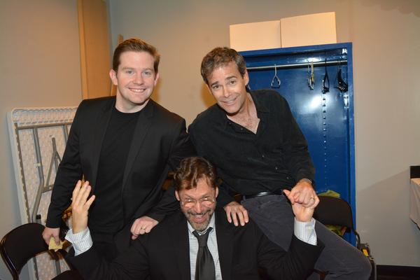 Rory O'Malley, James Ludwig and David Staller