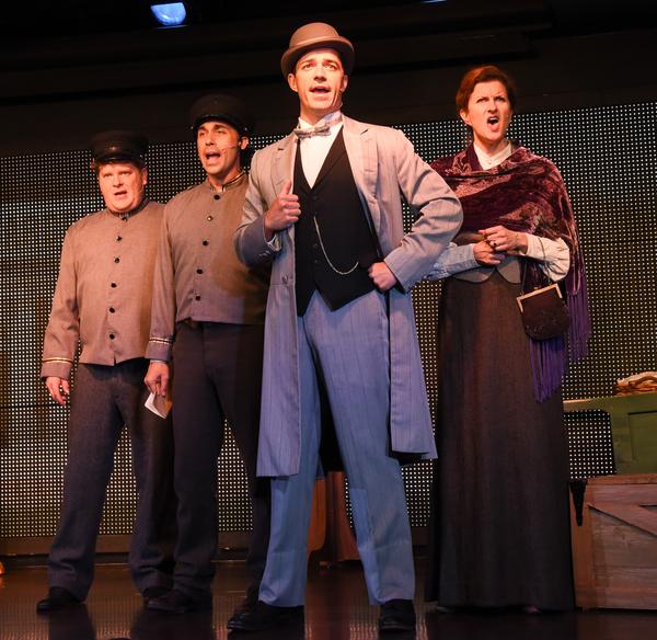 Mark Aldrich, Ryan Duncan, Brandon Andrus and Tina Stafford Photo