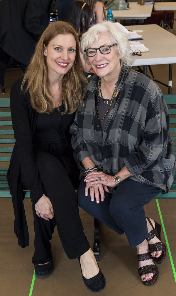 Photo Flash: Rachel York, Betty Buckley and More in Rehearsal for GREY GARDENS at the Ahmanson