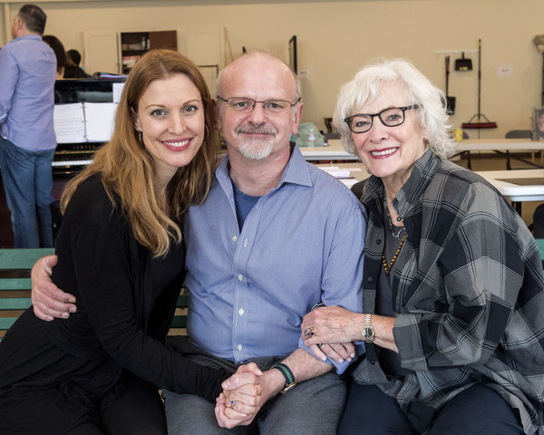 Rachel York,  Michael Wilson and Betty Buckley