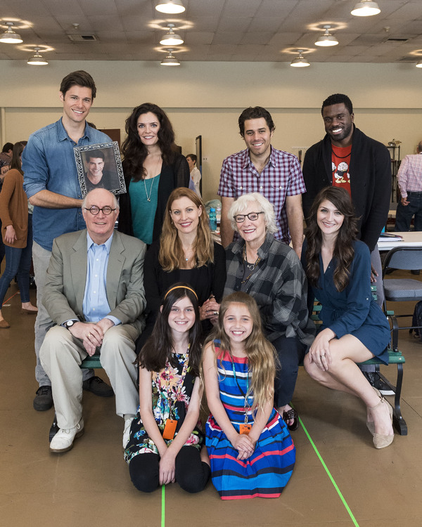 Steven Good, Bryan Batt, Melina Kalomas, Josh Young and Davon Williams, Simon Jones, Rachel York, Betty Buckley and Sarah Hunt, Katie Silverman and Peyton Ella