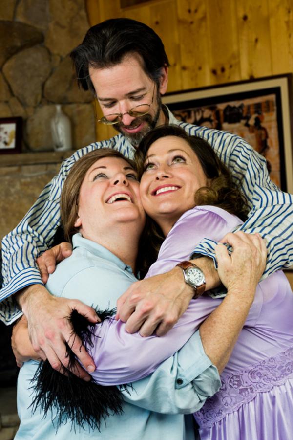 Leslie Ann Story, Jay Carlander and Anne Guynn
