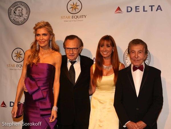 Shawn King, Larry King, Nancy Malnik, Alvin Malnik Photo