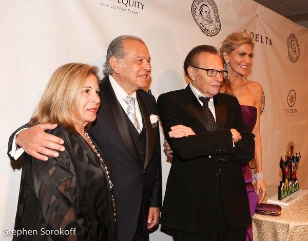 Sherry Weintraub, Stephen Weintraub, Larry King Shawn King