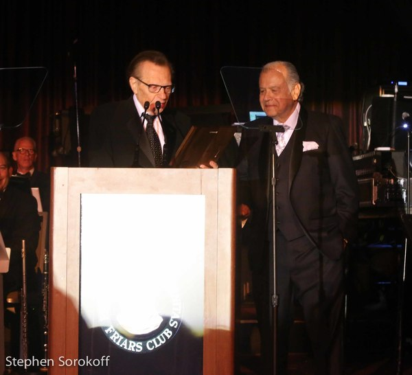 Larry King & Stephen Weintraub, Friar Of The Year