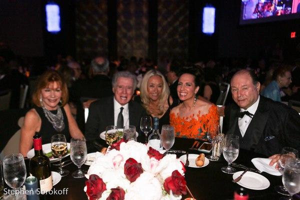 Joy Philbin, Regis Philbin, Eda Sorokoff, Deborah Silver, Larry Silver