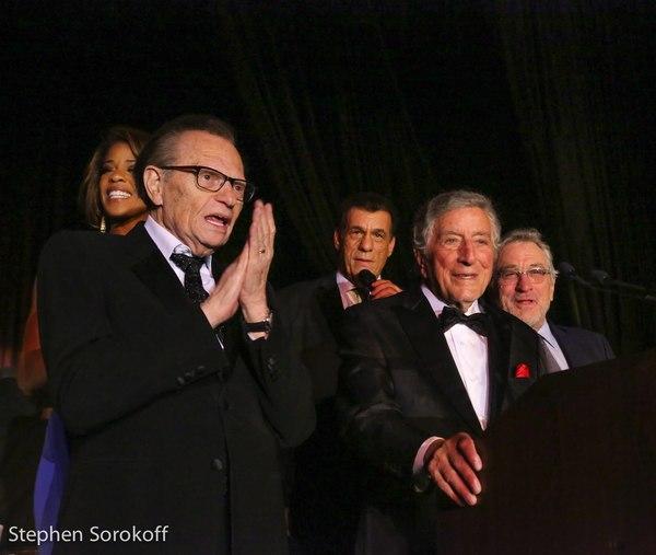 Larry King, Dean Friars, Tony Bennett, Robert De Niro