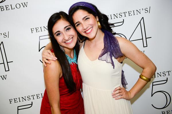 Krystina Alabado and Samantha Massell
