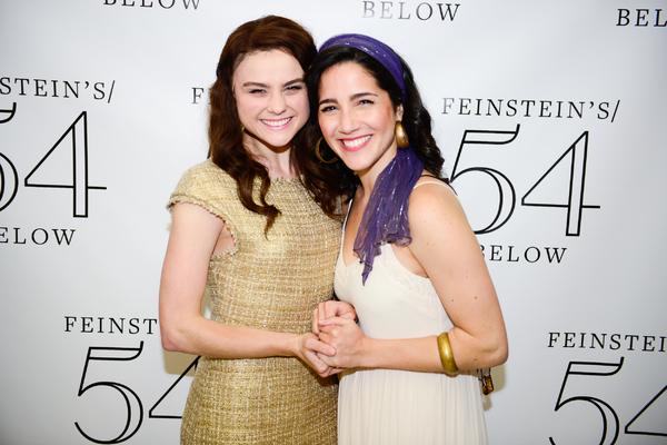 Melanie Moore and Samantha Massell