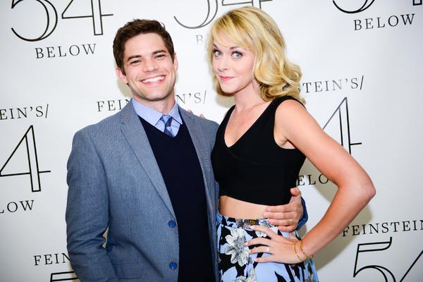 Jeremy Jordan and Ashley Spencer