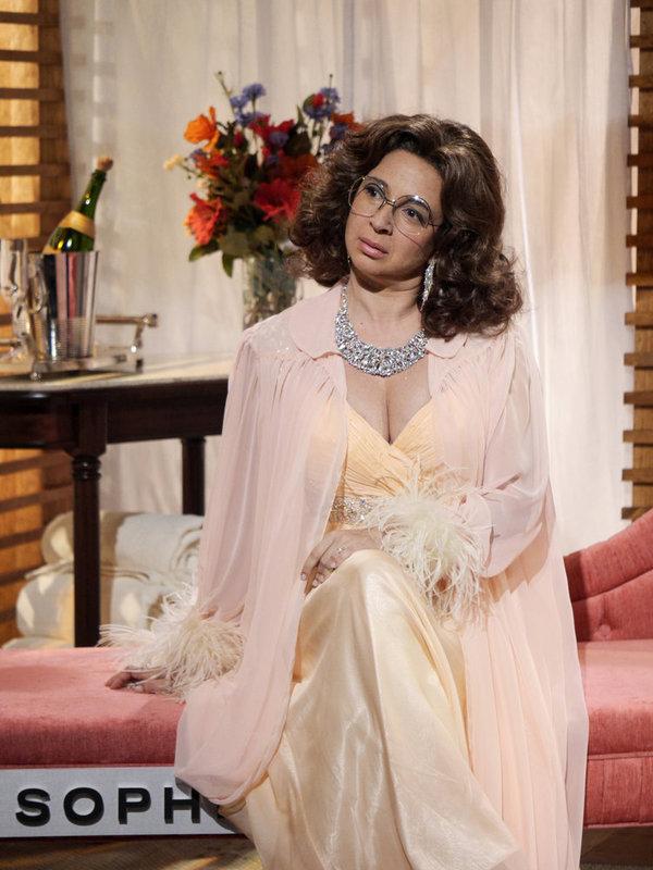 "MAYA & MARTY -- Episode 104 -- Pictured: Maya Rudolph as Sophia Loren during the ""Sophia Loren"" sketch on June 21, 2016 -- (Photo by: Steve Fenn/NBC)"
