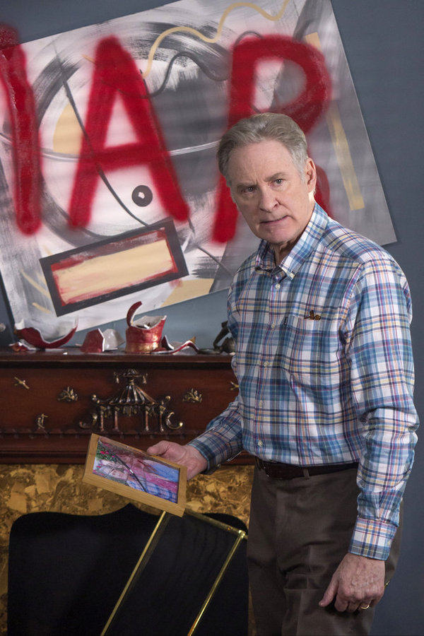 "MAYA & MARTY -- Episode 104 -- Pictured: Kevin Kline during the ""Everyone Poops"" sketch on June 21, 2016 -- (Photo by: Steve Fenn/NBC)"
