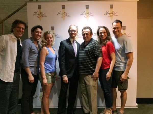 Writer/composer Jonathan Brielle, Zachary Prince, Whitney Bashor, Davi Hyde Pierce, Michael McCormick, Lianne Marie Hobbs and Matt Bogart
