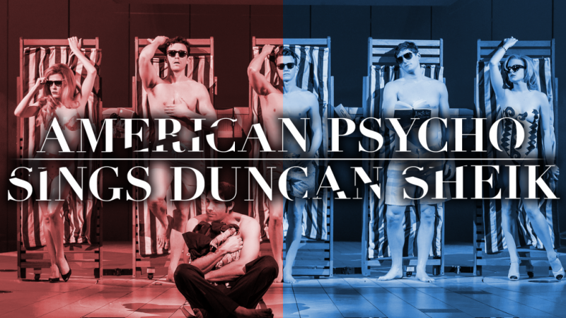 Alice Ripley and Jennifer Damiano Lead Company of AMERICAN PSYCHO SINGS DUNCAN SHEIK at Feinstein's/54 Below