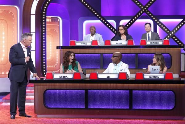 MATCH GAME - Airdate: June 26, 2016  - The iconic panel game show MATCH GAME, hosted by Golden Globe and Emmy Award-winning actor Alec Baldwin, returns to primetime airing on SUNDAYS beginning June 26th (10-11pm, ET) on the ABC Television Network.   (ABC/