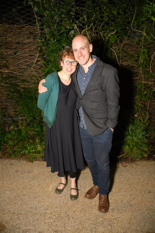 Michelle Terry, Robert Hastie Photo