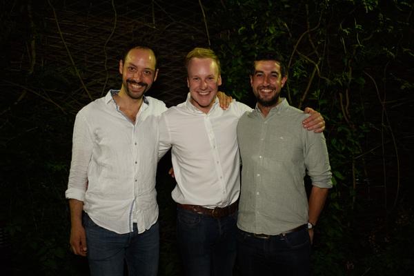 Philip Arditti, Bobby Delaney, Beruse Khan Photo