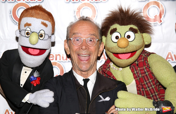 Rod (played by Ben Durocher) , Joel Grey and Ricky (played by Jason Jacoby)
