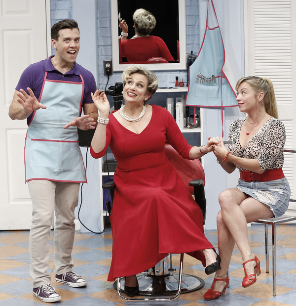 Photo Flash: First Look at Tony Winner Cady Huffman in SHEAR MADNESS