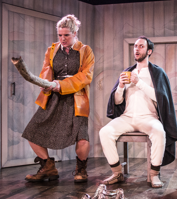 Photo Flash: First Look at THE FISHERMAN'S WIFE at Know Theatre