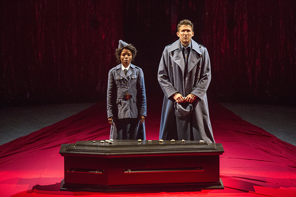 Marsha Stephanie Blake stars as Lady Macbeth and Jonathan Cake as the title role in MACBETH