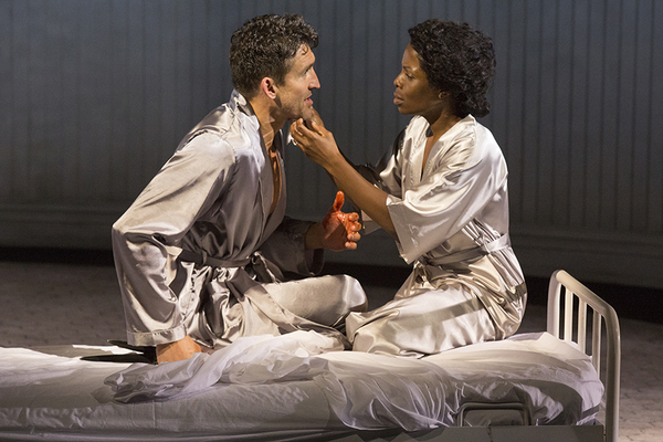 Jonathan Cake as Macbeth and Marsha Stephanie Blake as Lady Macbeth