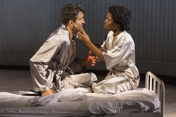 Jonathan Cake as Macbeth and Marsha Stephanie Blake as Lady Macbeth
