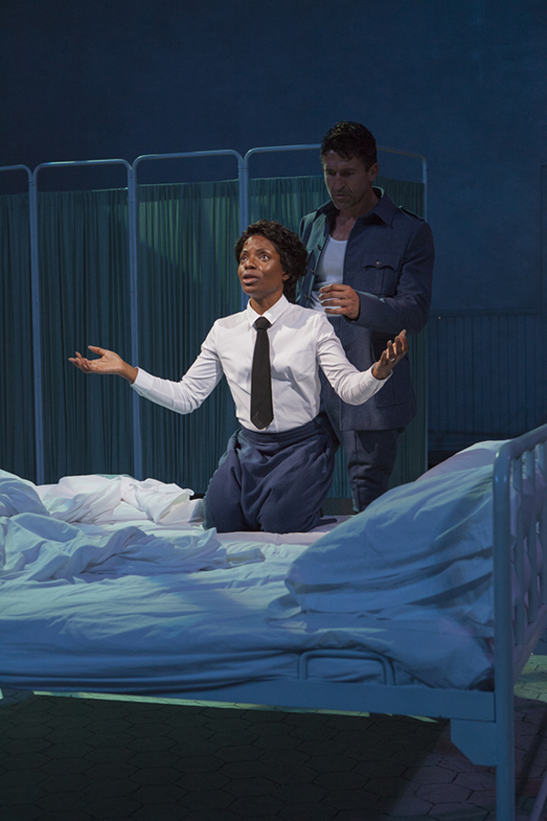Photo Flash: First Look at Jonathan Cake and Marsha Stephanie Blake in MACBETH at The Old Globe