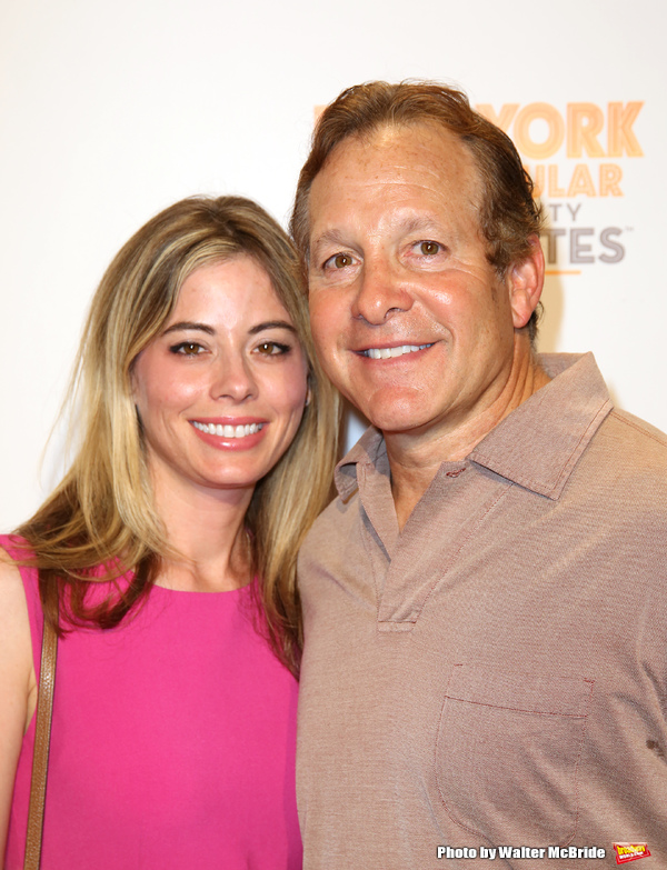 Steve Guttenberg and Emily Smith