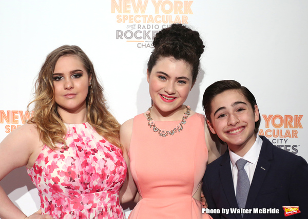 Photo Coverage: On the Red Carpet for NEW YORK SPECTACULAR with the Rockettes (Part Two)