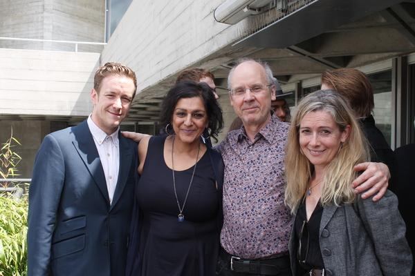 Jack Colgrave Hirst, Meera Syal, John Caird, Emma Fielding Photo