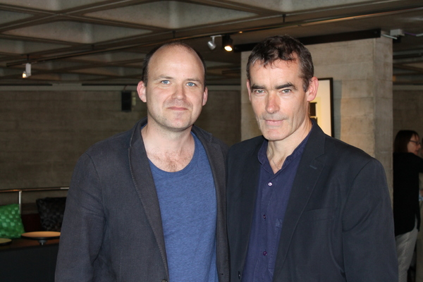 Rory Kinnear and Rufus Norris