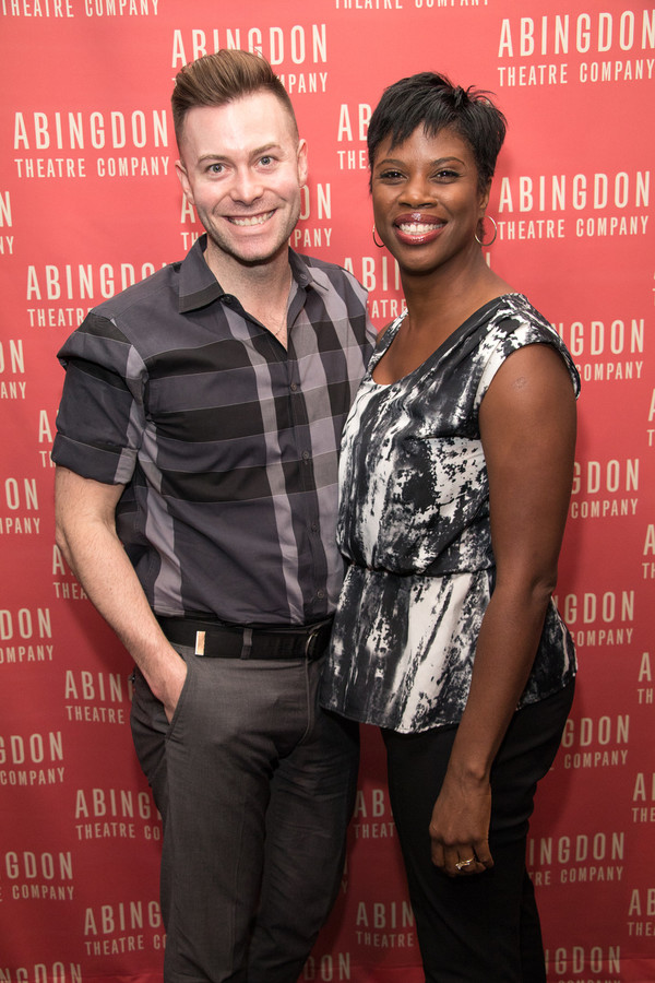 Assistant Director Chad Austin and Deidre Goodwin