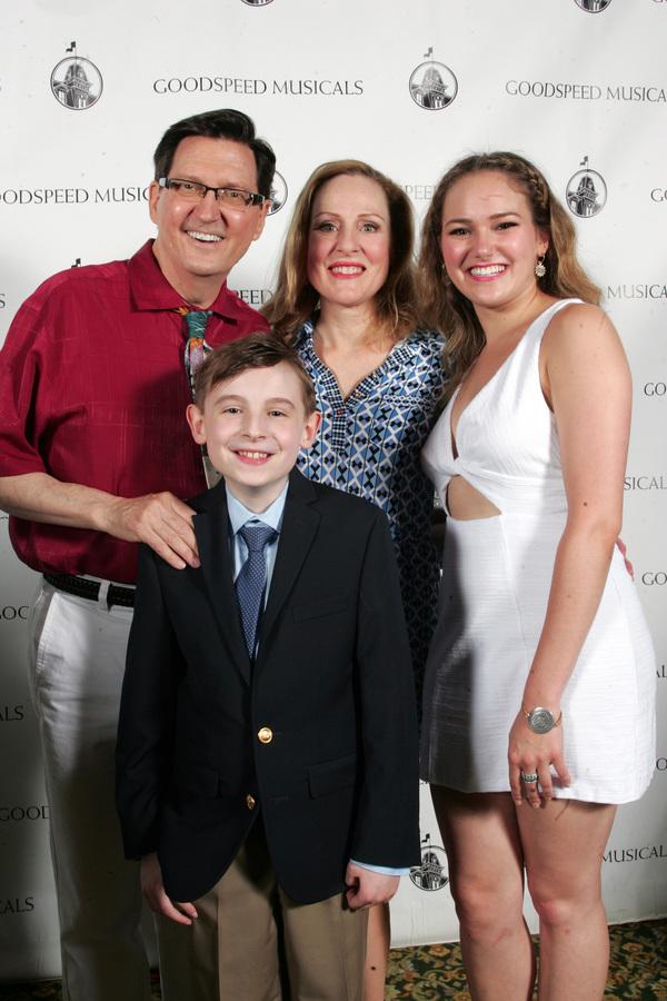 Warren Kelley, Donna English, Tristen Buettel, and Ben Stone