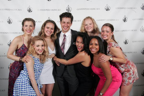 Rhett Guter with the Girls of BYE BYE BIRDIE