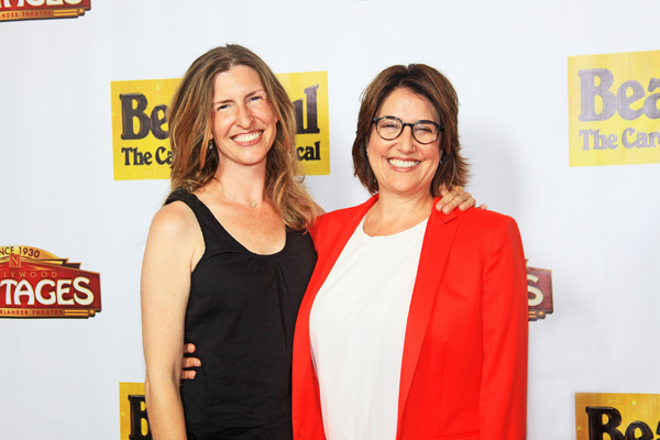 Kelly Atkins w/ Christine Russell: executive producer Photo