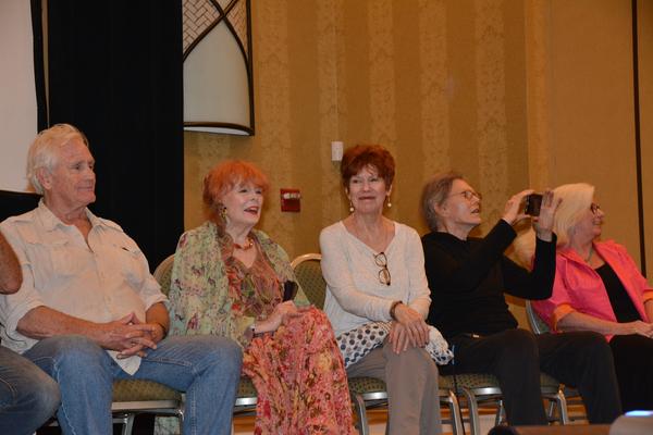 Christopher Pennock, Marie Wallace, Donna Wandrey, Roger Davis and Sharon Smyth Photo