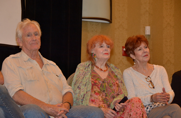 Christopher Pennock, Marie Wallace and Donna Wandrey Photo