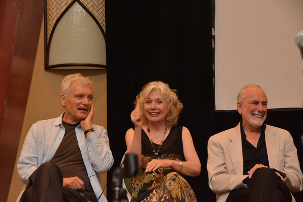David Selby, Kathryn Leigh Scott and Jerry Lacy