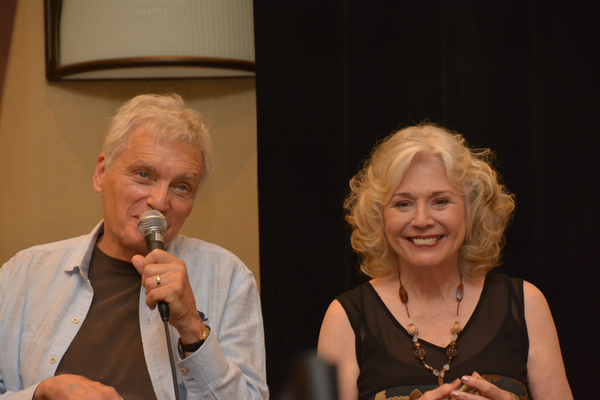 David Selby and Kathryn Leigh Scott