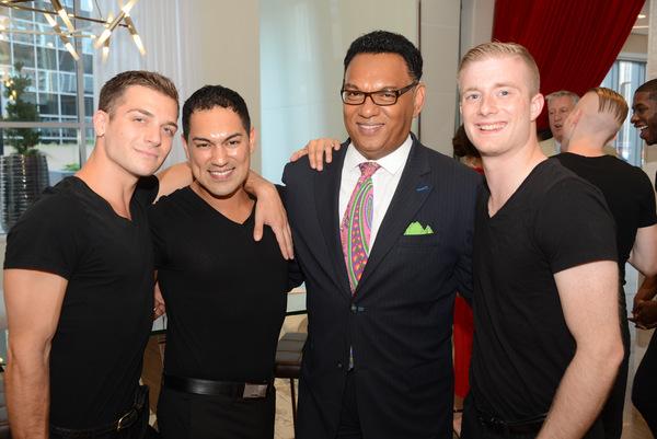 Jacob Frazier, Cesar G. Salinas, Michael Foster and Ryan Galloway Photo